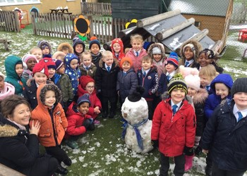 Reception - Snow!