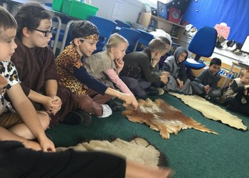 Year 3 Stone Age Workshop