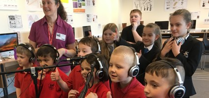 "Herne Infants and Spires Collaborate a song ""Feelings"""