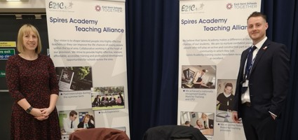 Spires Academy attends Canterbury Christ Church Teaching Recruitment Event..........