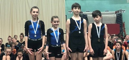 Spires Gymnastics Academy takes part in South East England Competition.........