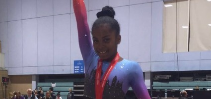 China Mattis comes 1st  in Level 2 British Trophy competition