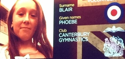 Phoebe Blair wins Young Volunteer of the Year at the British Gymnastics National Awards