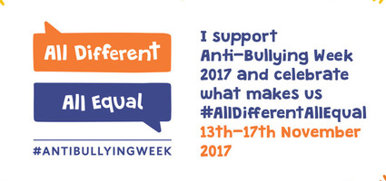Raising Awareness: Anti-Bullying Week 13-17th November