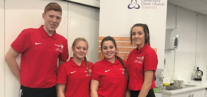 Spires Students earn place on Kent Young Coach Academy