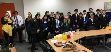 A Fond Farewell to our Korean Visitors