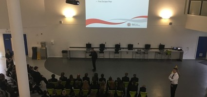 Year 10 Students -  Fire Safety Talk