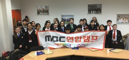Korean Students Visit Spires Academy