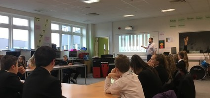"Year 7 Learning ""Tones and Semitones""  with Mr Williams"