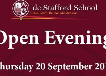 Open Evening - September 2018