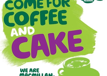 Macmillan Coffee Morning - Thurs 27 Sept