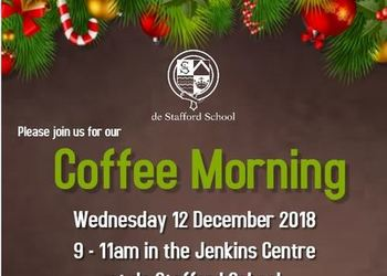 Coffee Morning - 12 December 2018