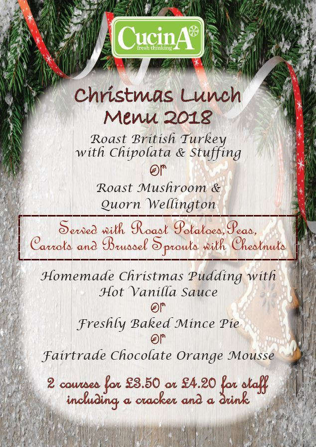 Christmas Lunch Poster   2018