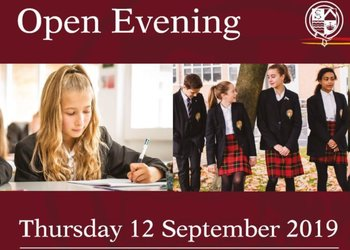 Join us at our Open Evening!