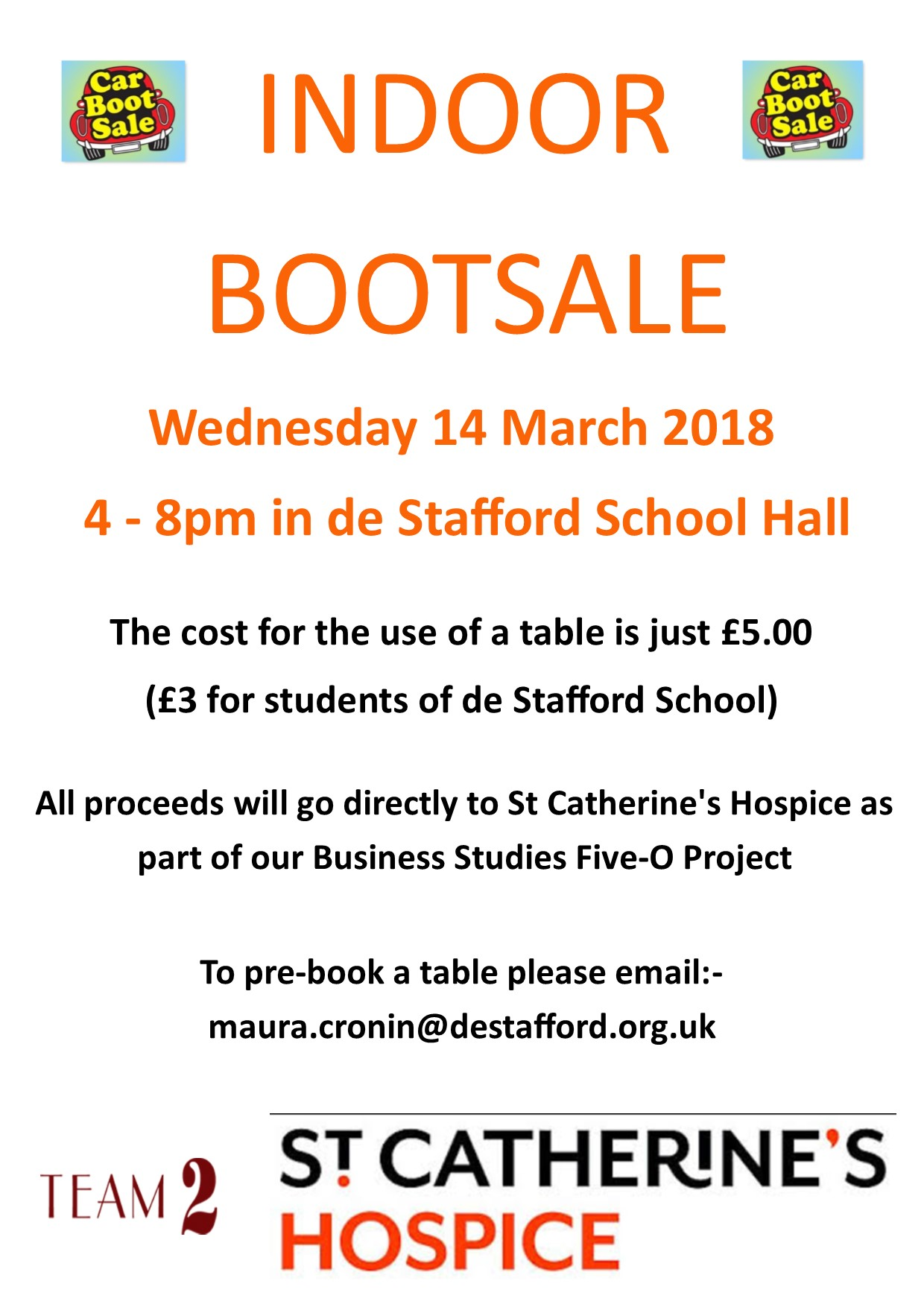 Five O Project   Bootsale   14 March 2018
