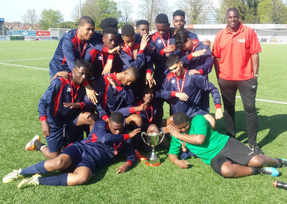 Football Inner London County Cup Winners 16