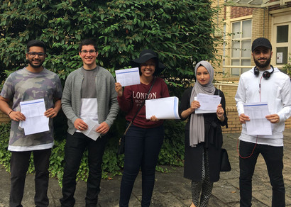 St Charles Students Celebrate A-Level Results!