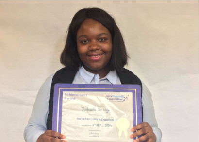 Jack Petchey Award Winner May 2016