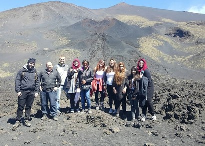 Geography Students Visit Sicily