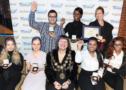 Jack petchey award ceremony 2018 group
