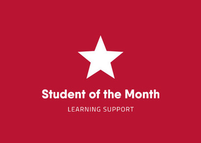 Learning Support Star Student of the Term Feb 2020
