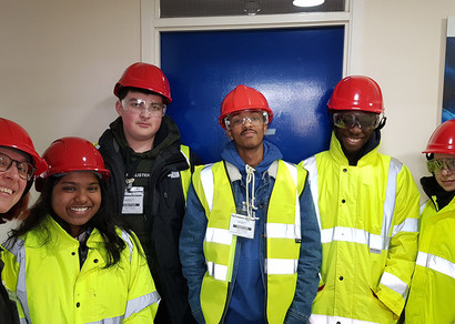 St Charles Students Visit Haltermann Carless Refinery