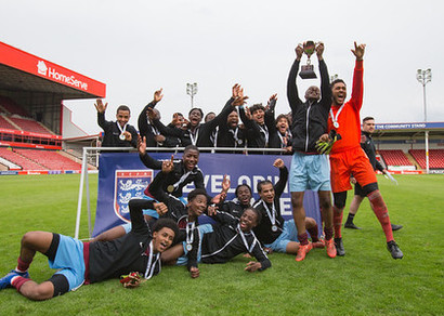 Football: St Charles Wins ECFA U18 National Trophy