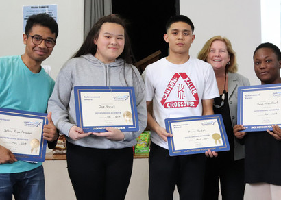 Jack Petchey Award Winners 2019