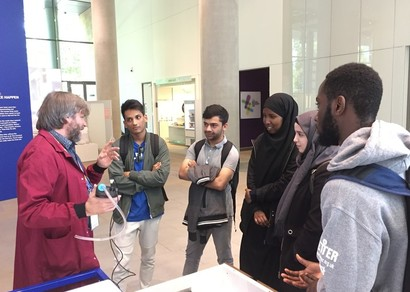 The Francis Crick Institute: Meet a Scientist Visit