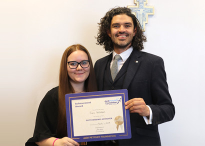 Jack Petchey September 2019 Winner: Tara Waldman