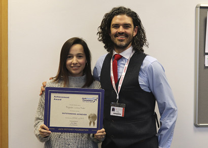 Jack Petchey October 2019 Award Winner: Alejandra Lozano Nodar