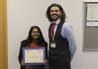 Jack Petchey Award Winner November 2019: Prachi Bhagat