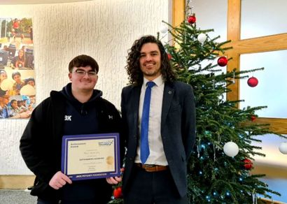 Jack Petchey November 2020 Award Winner - Albert Blackie Kelly