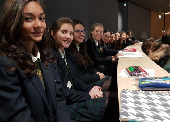 "Students attend ""Girls into Maths"" Workshop at Oxford University"