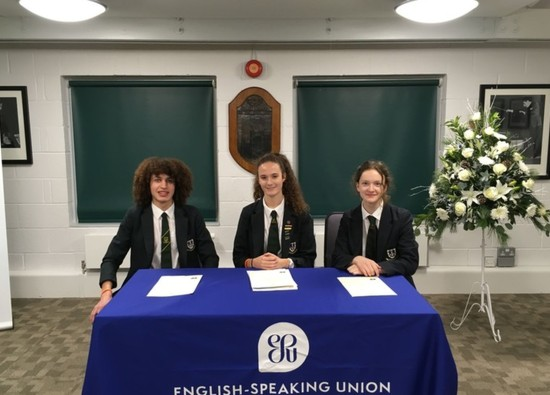 Students selected for English Speaking Union Branch Finals