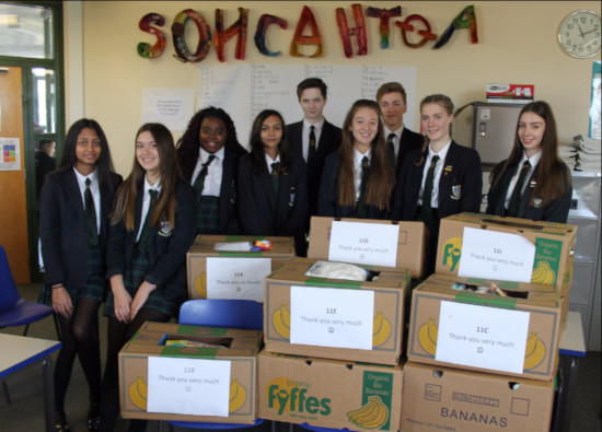 Year 11 students provide Baby Boxes for Humanitarian Aid