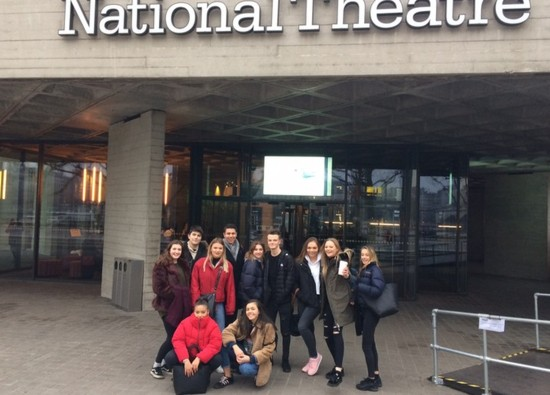 Year 12 Drama students visit National Theatre Workshop