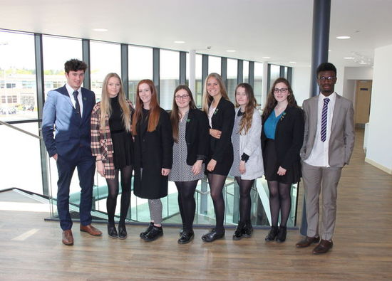 Sixth Form Building Committee  Presents to Senior Leadership Team