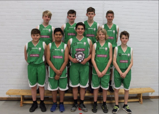 Year 9 Boys Basketball District League Champions