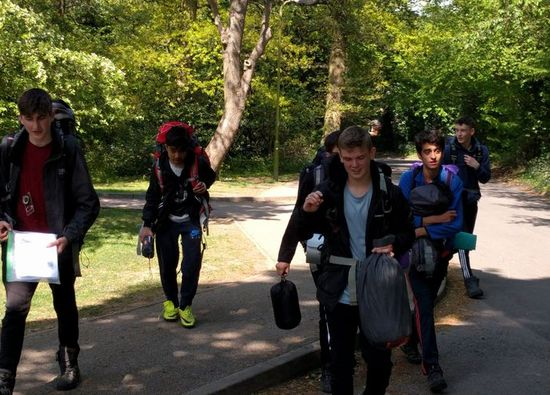 Nearly 100 Year 10 students go on Duke of Edinburgh Award weekend