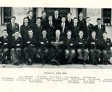 1954 55 prefects