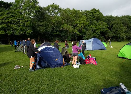 Students complete Bronze Duke of Edinburgh Expedition