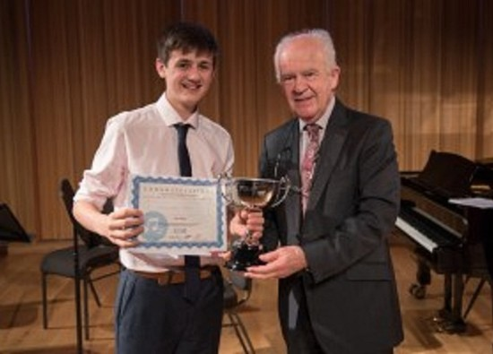 SCD student Alex Pullen named Young Musician of The Year 2017