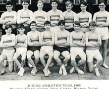 Junior athletics 1966