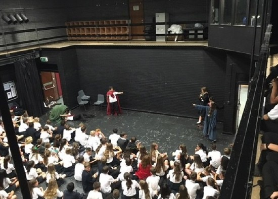 Burleigh retain position as winners of Year 7 Inter-Form Drama Competition