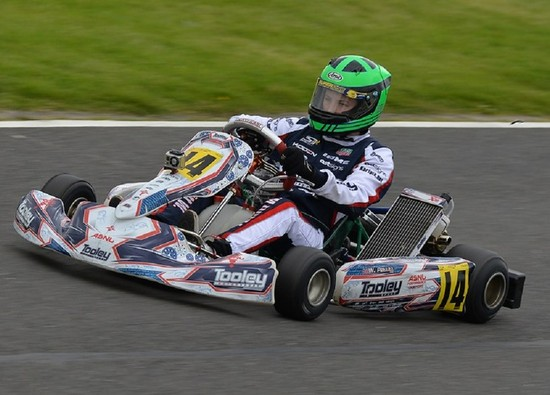 Student William Pettitt moves to senior category in British Karting Championships