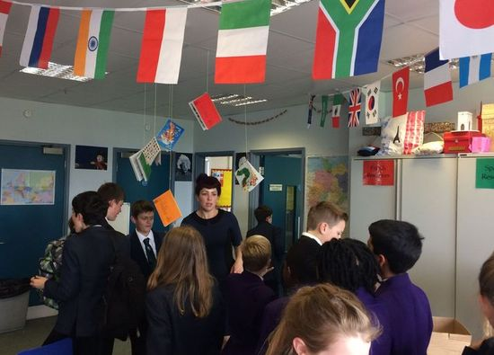 Students celebrate European Day of Languages