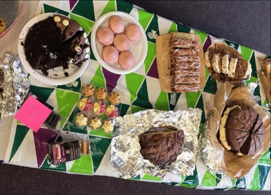 Staff and students get baking for Macmillan