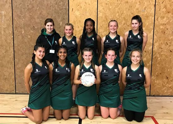 Year 10 netballers progress to County Cup Tournament after 31-8 win