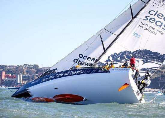 Old Dane Dee Caffari is first female skipper in Volvo Ocean Race